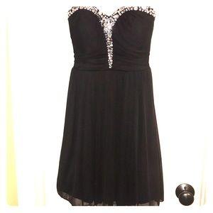 Black homecoming/prom/formal dress